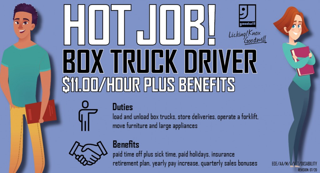 Box Truck Driver Feature 07-2020