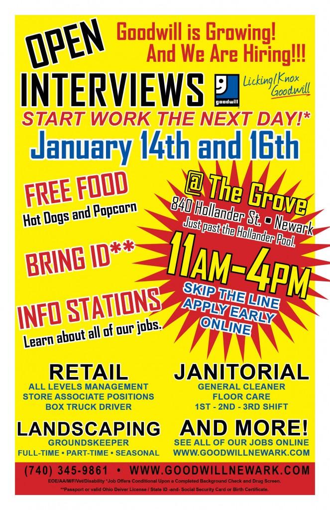 Open Interviews 1-14-20