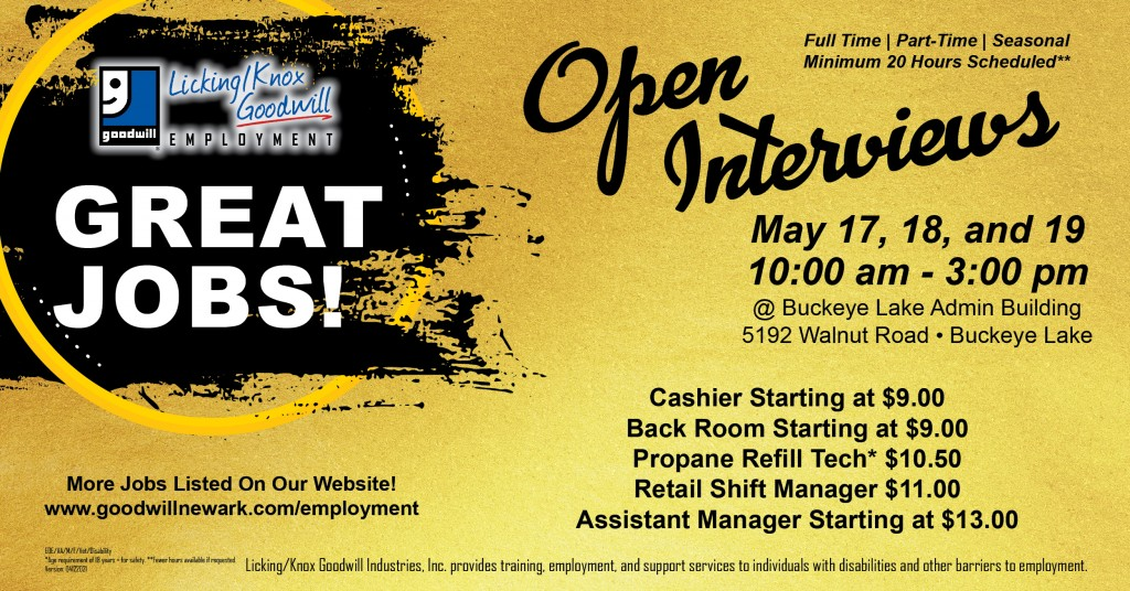 Open Interviews May 17-19 fb