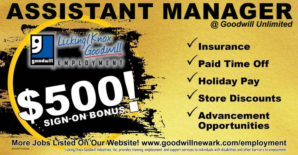 Unlimited Assistant Manager 07-2021