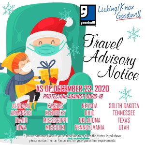 Travel Advisory Notice