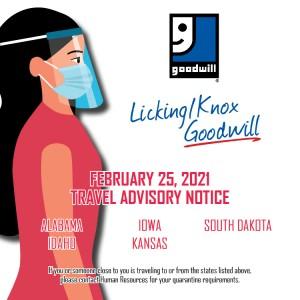 Travel Advisory Notice